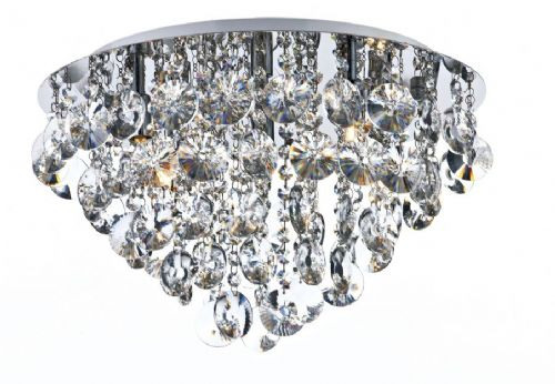 Jester 5-light Polished Chrome Flush Ceiling Light JES5450